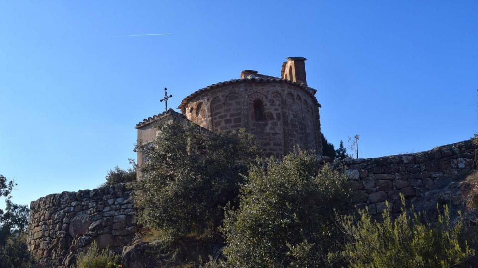 Church of Sant Pere de mas Pujol - Author Ramon Sunyer (2017)