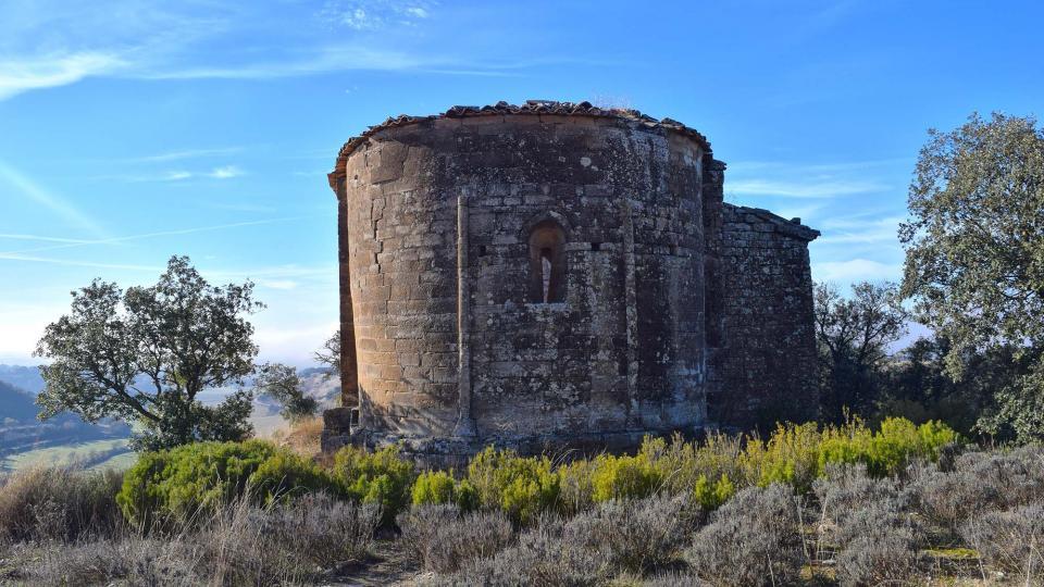 Ermitage de Sant Miquel de Tudela - Auteur Ramon Sunyer (2016)