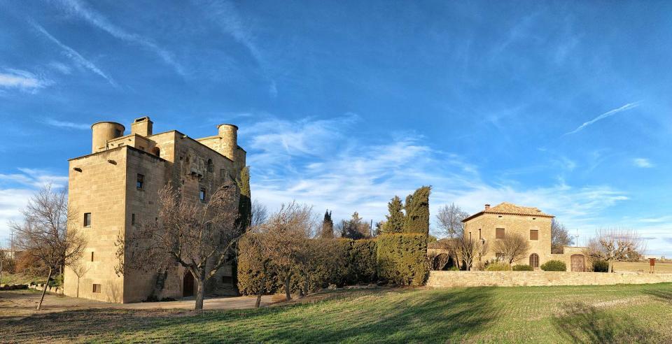 Castell de molí de Ratera - Autor Ramon Sunyer (2018)