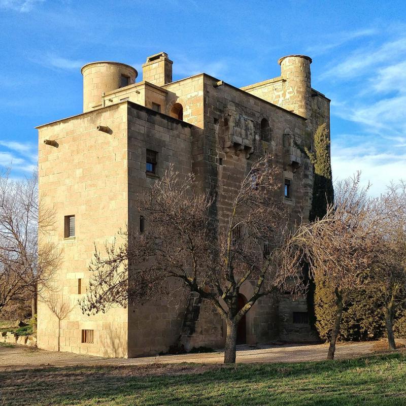 04.01.2018 Castell molí  Ratera -  Ramon Sunyer