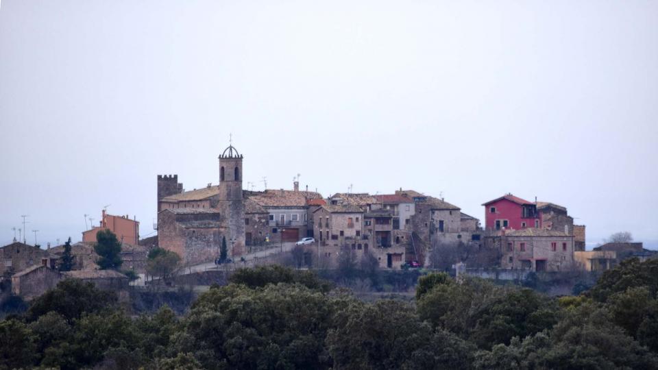 28.12.2017 vista del poble  Florejacs -  Ramon Sunyer