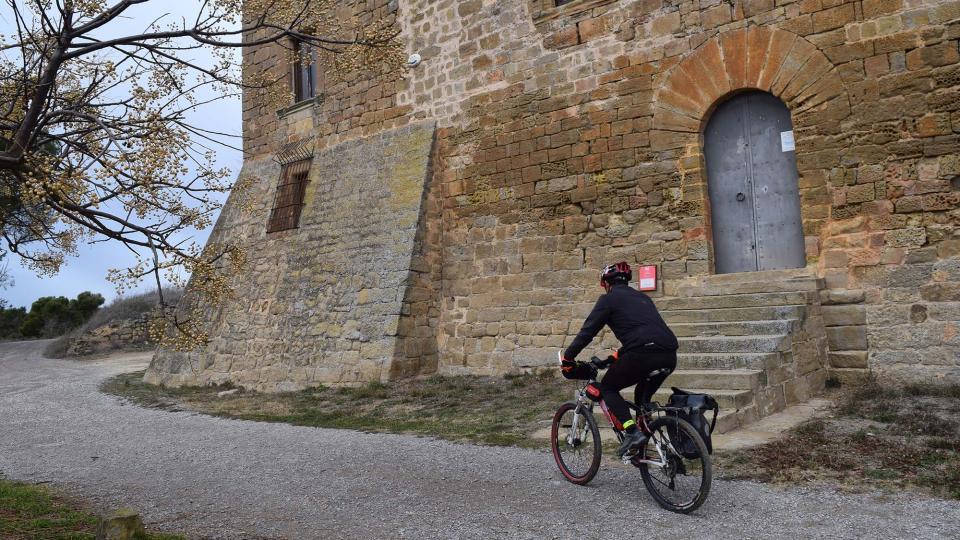 28.12.2017 Jordi Padreny al castell de les Sitges  Florejacs -  Ramon Sunyer