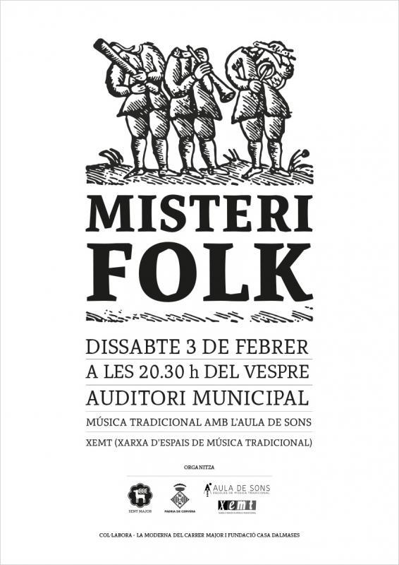 cartell Misteri Folk 2018