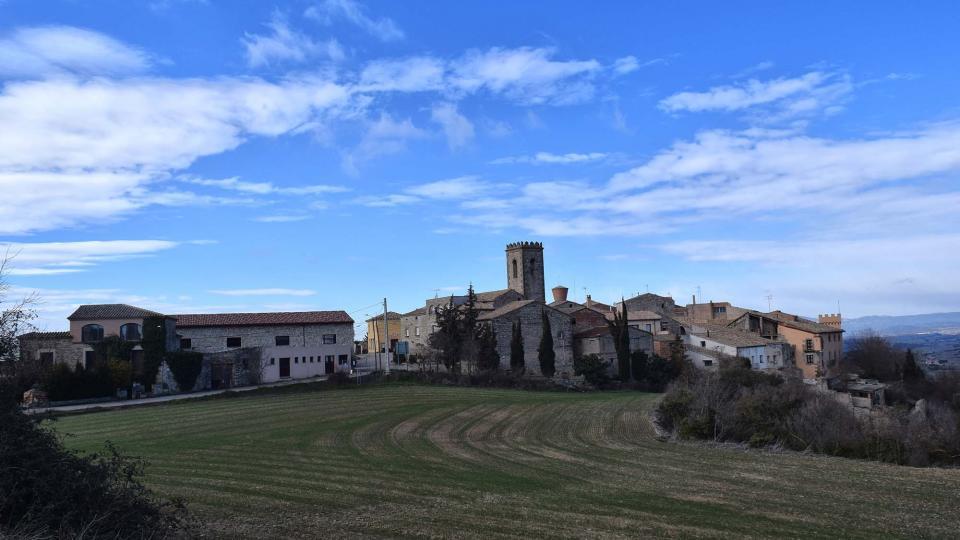 03.02.2018 vista del poble  Vicfred -  Ramon Sunyer