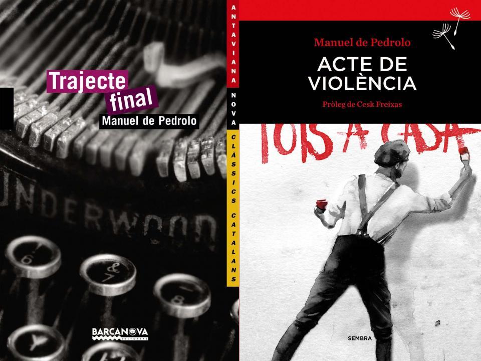 Trajecte final i acte de violència dues obres de Pedrolo -