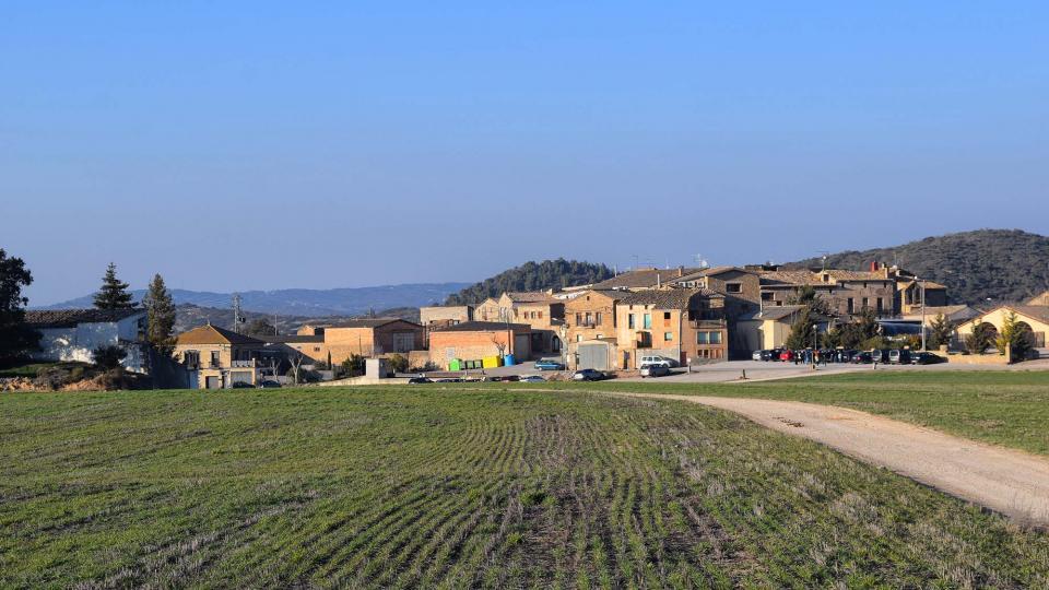 25.02.2018 vista del poble  Palouet -  Ramon Sunyer