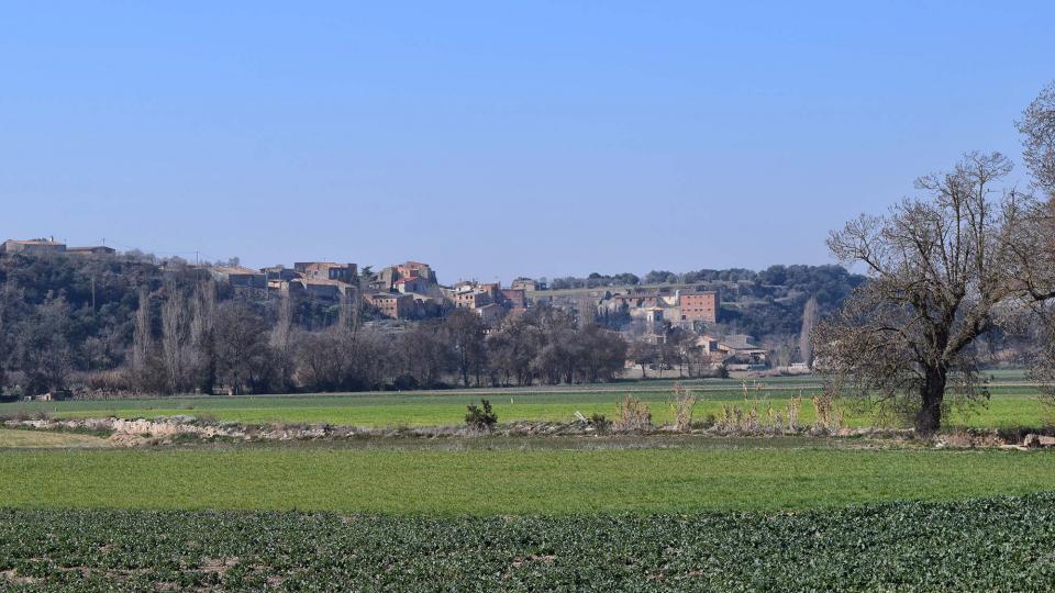 25.02.2018 vista  Castellnou d'Oluges -  Ramon Sunyer