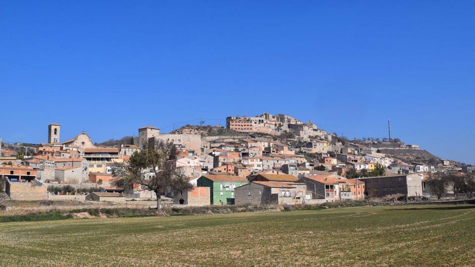 25.02.2018 Vista del poble  Les Oluges -  Ramon Sunyer