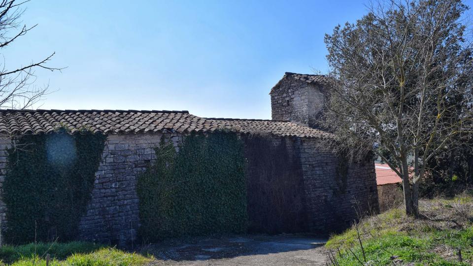25.02.2018 Església de Santa Maria  El Castell de Santa Maria -  Ramon Sunyer