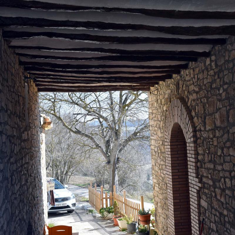 25.02.2018 pas cobert  El Castell de Santa Maria -  Ramon Sunyer