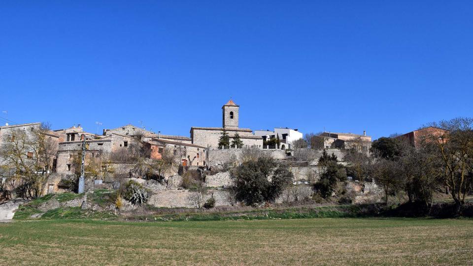 25.02.2018 vista del poble  Sant Domí -  Ramon Sunyer