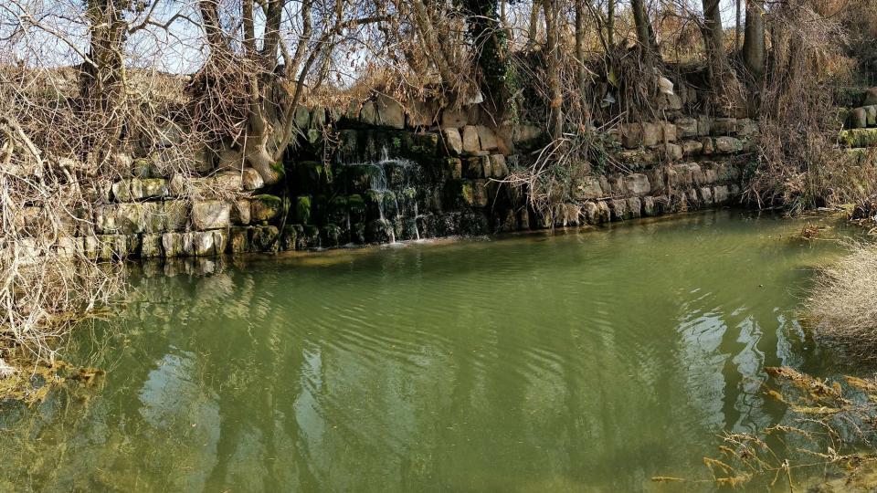 Espace fluvial  Peixera de Sedó - Auteur Ramon Sunyer (2018)