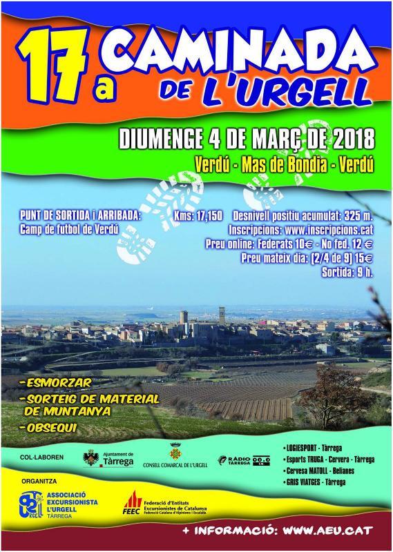 17a. Caminada Popular de l'Urgell