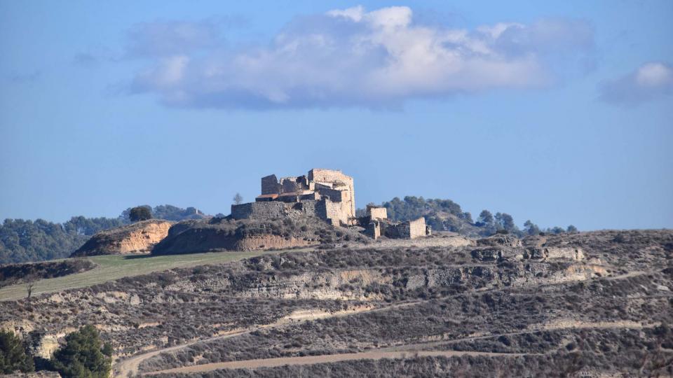 28.01.2018 Castell de Timor  Sant Pere dels Arquells -  Ramon Sunyer