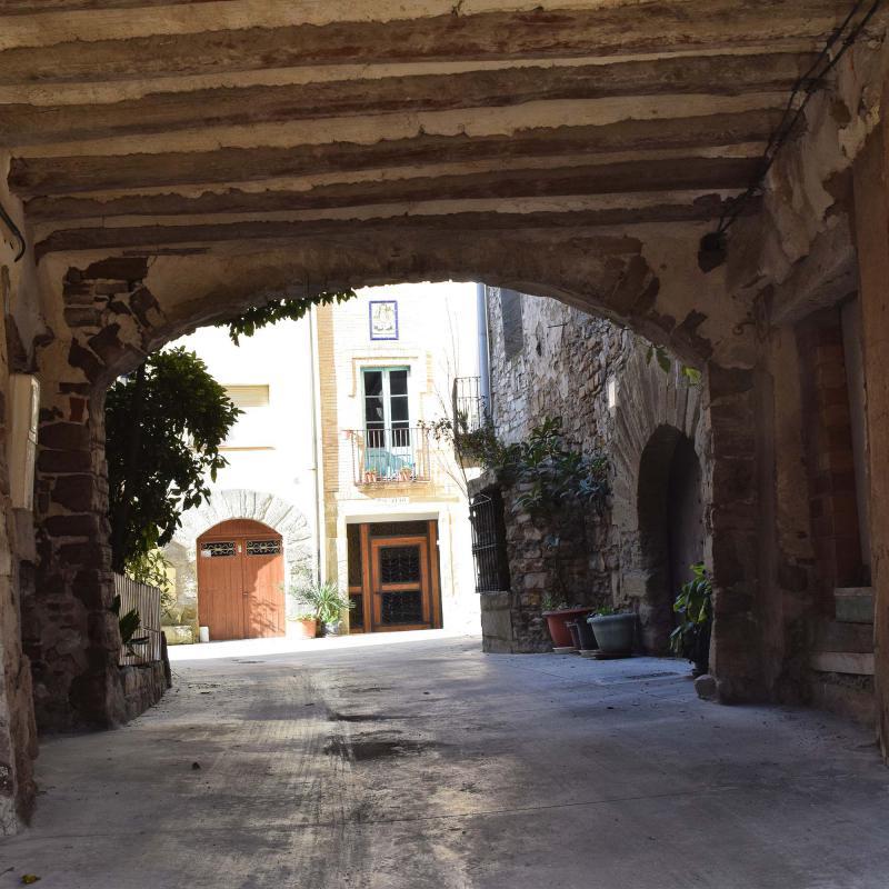 28.01.2018 pas cobert  Sant Pere dels Arquells -  Ramon Sunyer