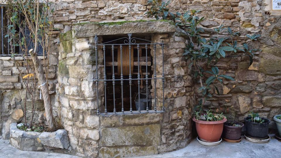 28.01.2018 cisterna  Sant Pere dels Arquells -  Ramon Sunyer