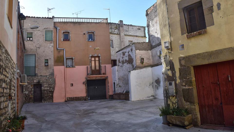 28.01.2018 plaça major  Sant Pere dels Arquells -  Ramon Sunyer