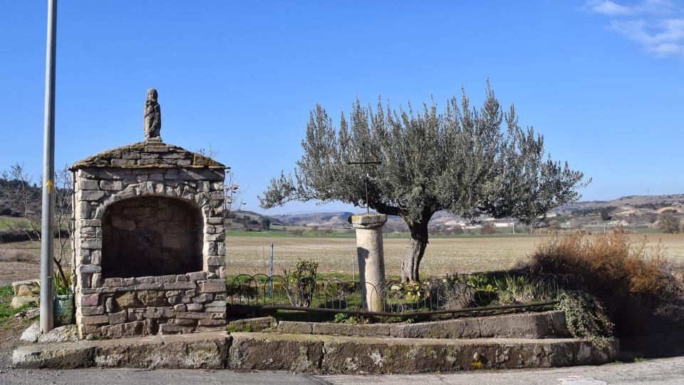 28.01.2018 font  Sant Pere dels Arquells -  Ramon Sunyer
