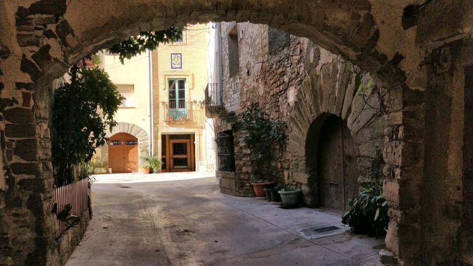 28.01.2018 portal  Sant Pere dels Arquells -  Ramon Sunyer