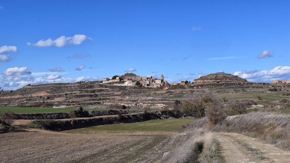 03.03.2018 vista del poble  Rubinat -  Ramon Sunyer