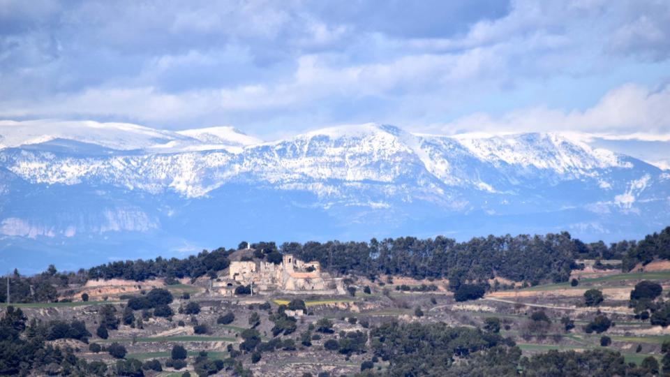 03.03.2018 paisatge  Montlleó -  Ramon Sunyer
