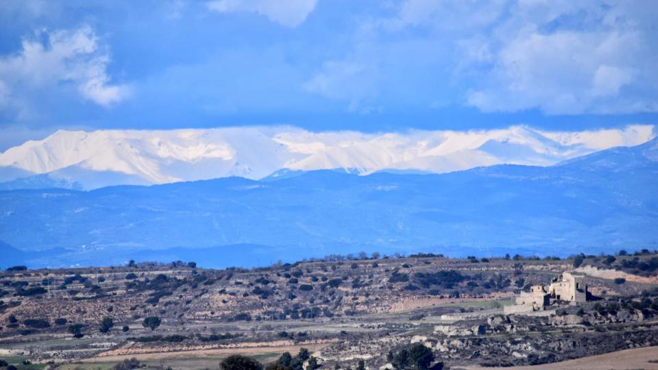 03.03.2018 paisatge  Sant Pere dels Arquells -  Ramon Sunyer