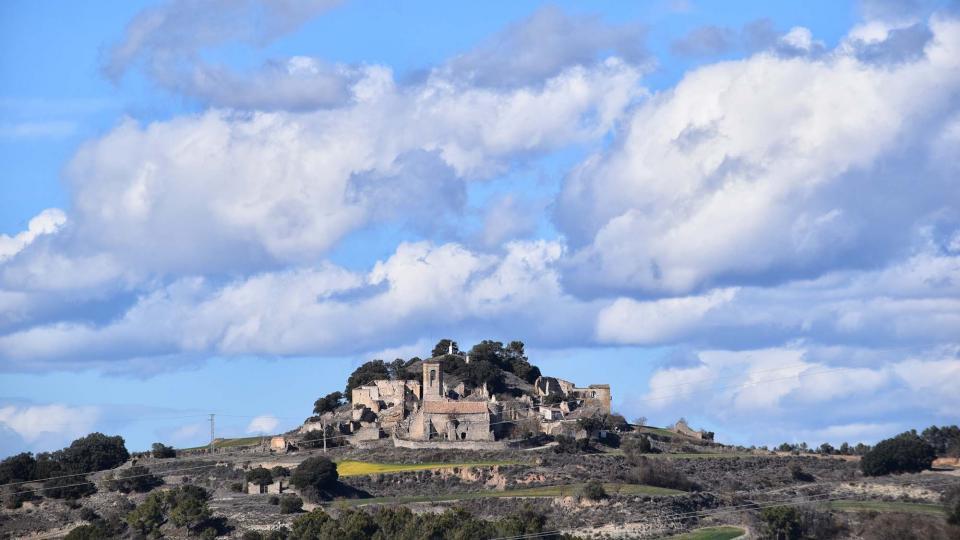 03.03.2018 poble  Montlleó -  Ramon Sunyer