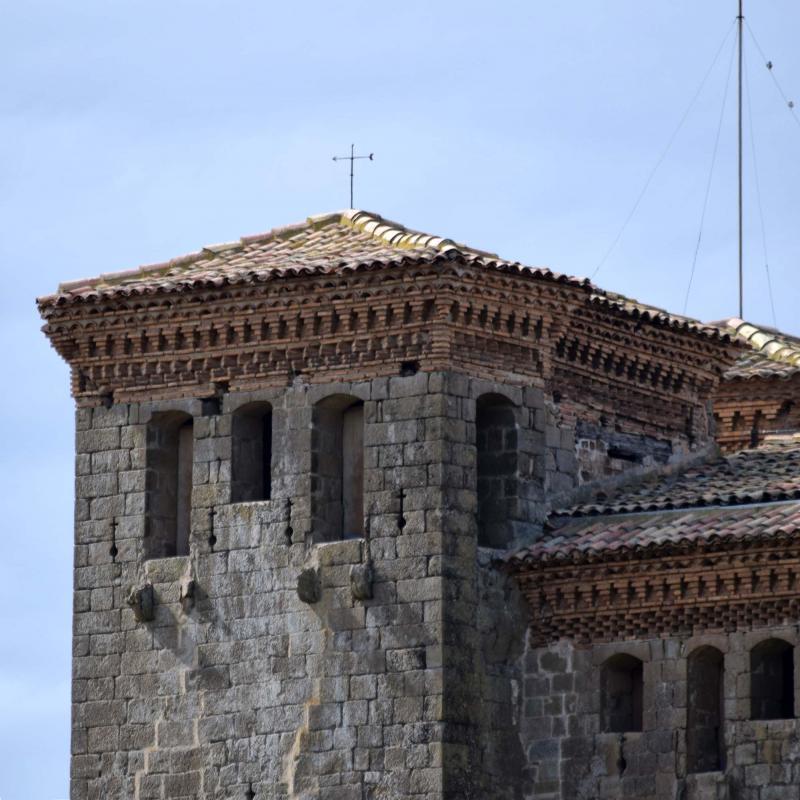 04.03.2018 castell detall torre  Montcortès de Segarra -  Ramon Sunyer