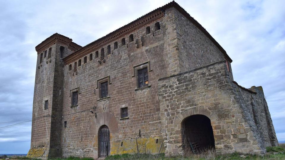 04.03.2018 castell  Montcortès de Segarra -  Ramon Sunyer