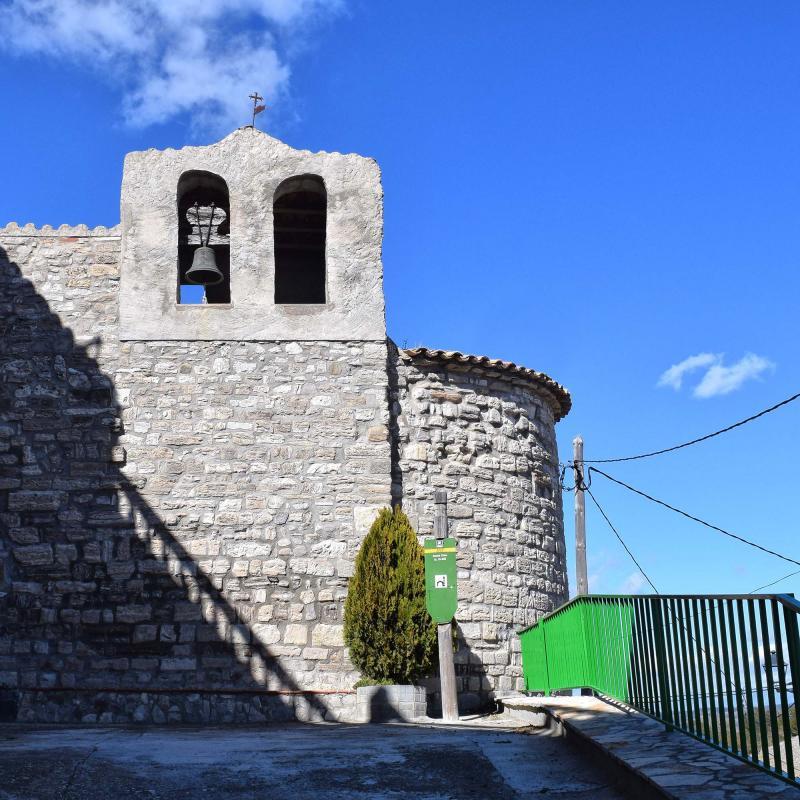 Iglesia de Santa Creu - Autor Ramon Sunyer (2018)