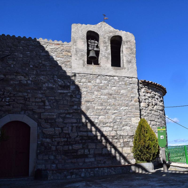 03.03.2018 Església Santa Creu romànic (XII)  Pavia -  Ramon Sunyer