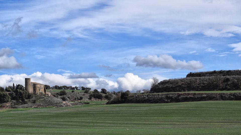 11.03.2018 vista  Castellmeià -  Ramon Sunyer