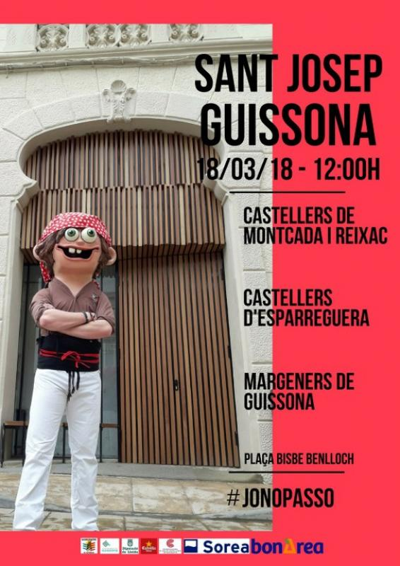 Castellers a Guissona