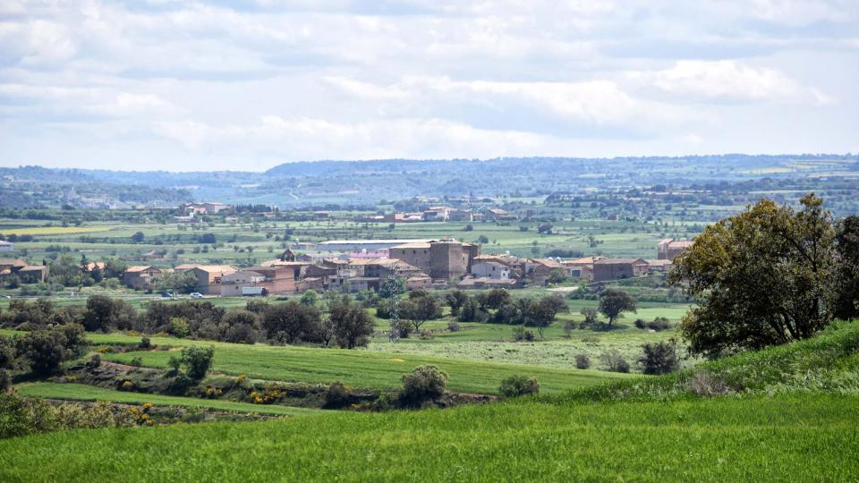 30.04.2018 Vista des de Les Pallargues  Concabella -  Ramon Sunyer