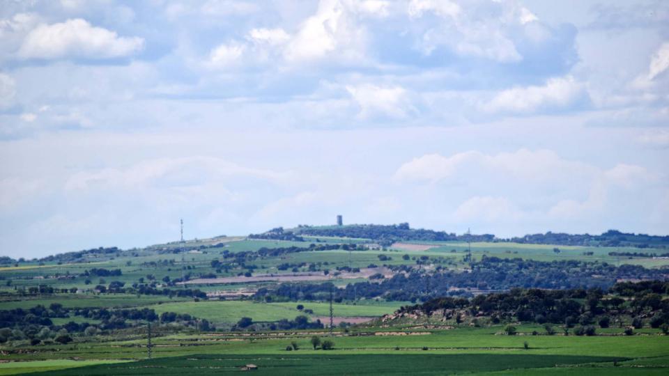 30.04.2018 Vista del Pilar d'Almenara  Les Pallargues -  Ramon Sunyer