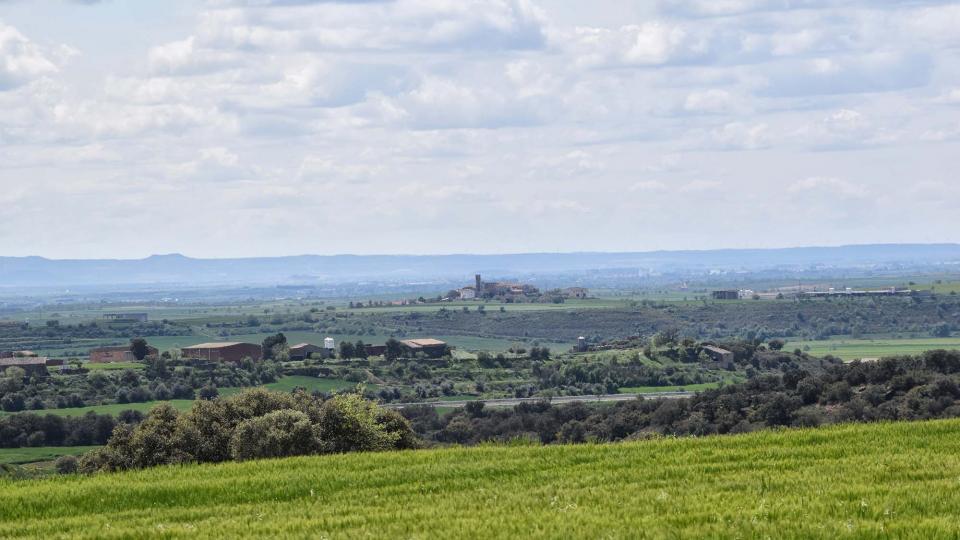 30.04.2018 Vista de Bellver d'Ossò  Les Pallargues -  Ramon Sunyer
