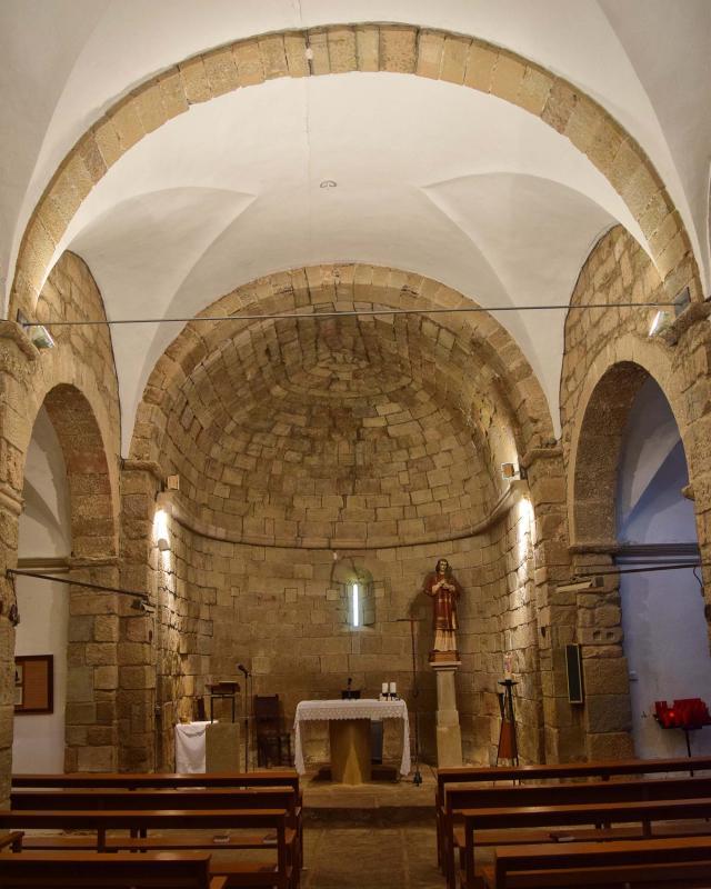 30.04.2018 Església de Sant Esteve  Pelagalls -  Ramon Sunyer