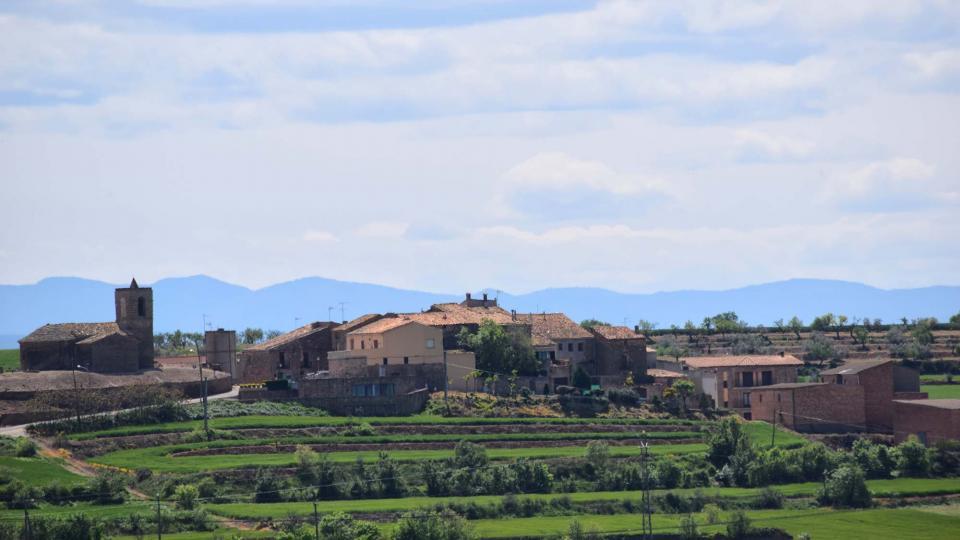 30.04.2018 Vista des de Les Pallargues  Pelagalls -  Ramon Sunyer