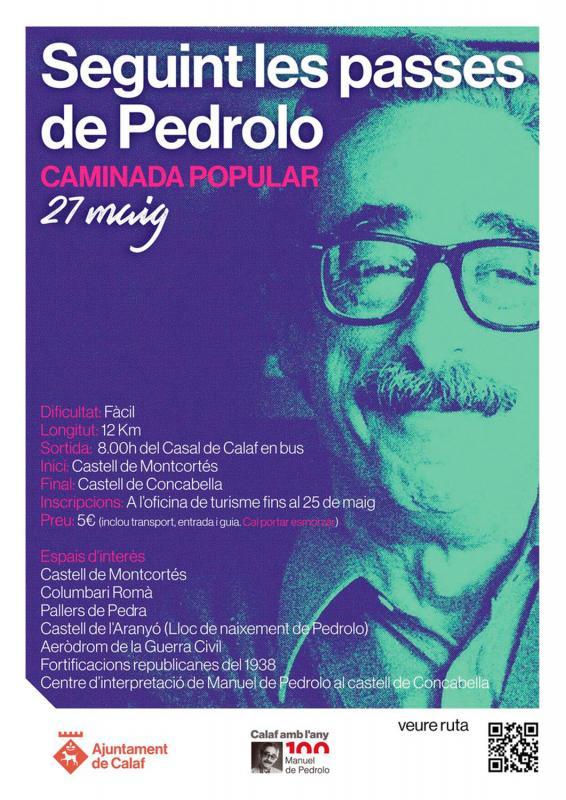 Caminada: Seguint les passes de Pedrolo