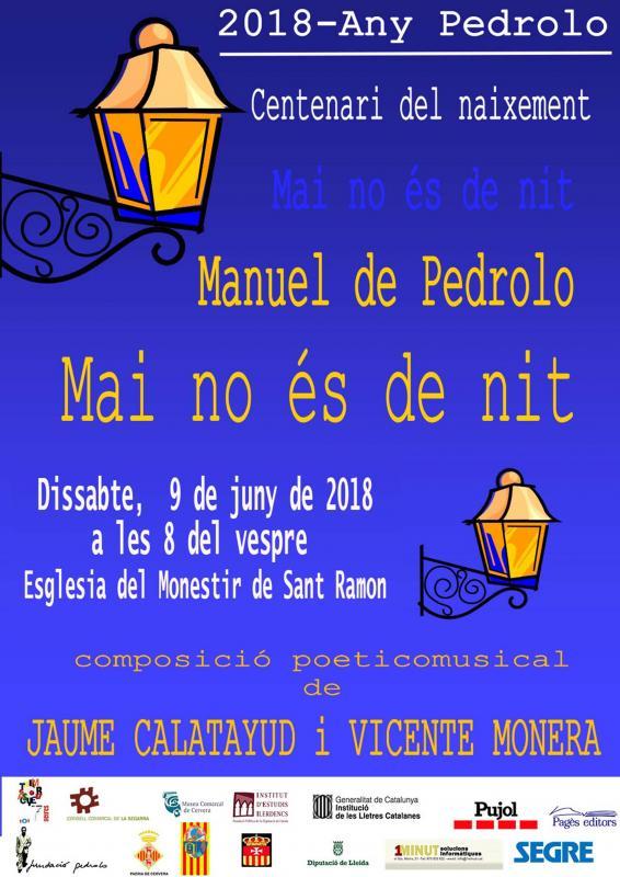 Recital poètic-musical 'Mai no és de nit'