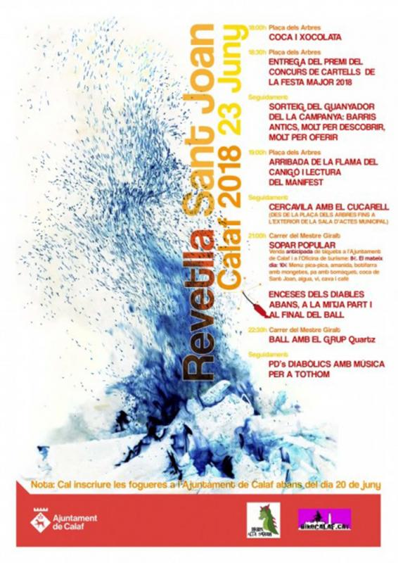 Revetlles de Sant Joan 2018 Calaf -
