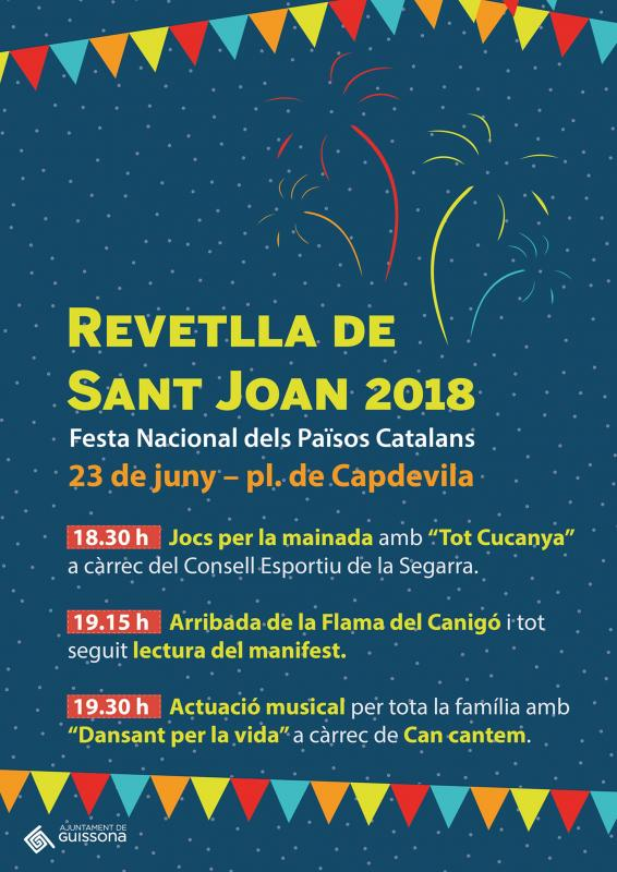 Revetlles de Sant Joan 2018 Guissona -
