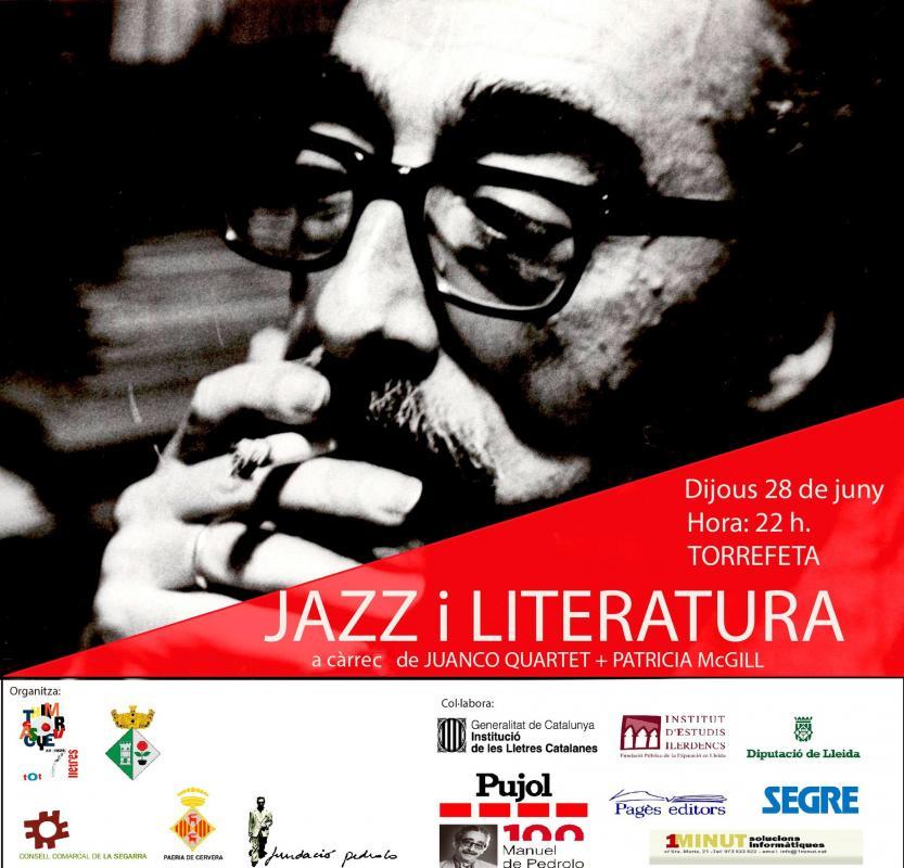 Any Pedrolo 'Jazz i Literatura' a Torrefeta