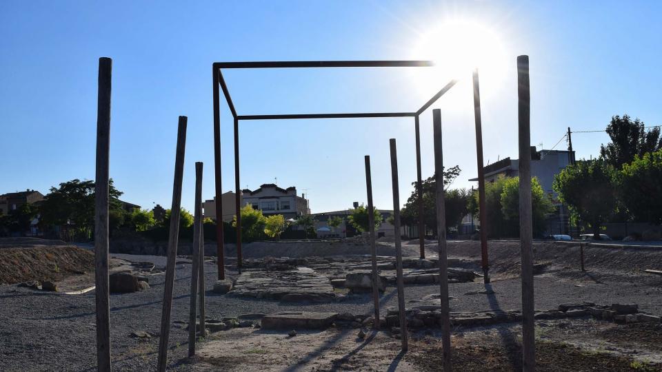 15.07.2017 Parc antiga Ciutat de Iesso  Guissona -  Ramon Sunyer