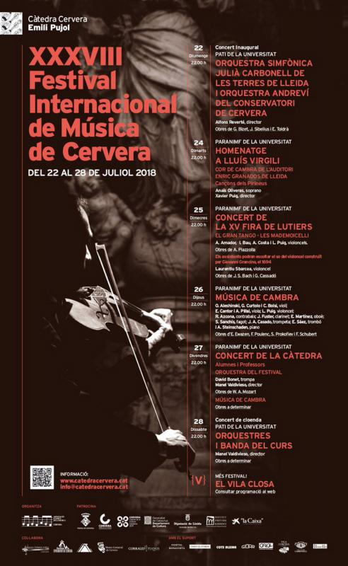XXXVIII Festival Internacional de Música