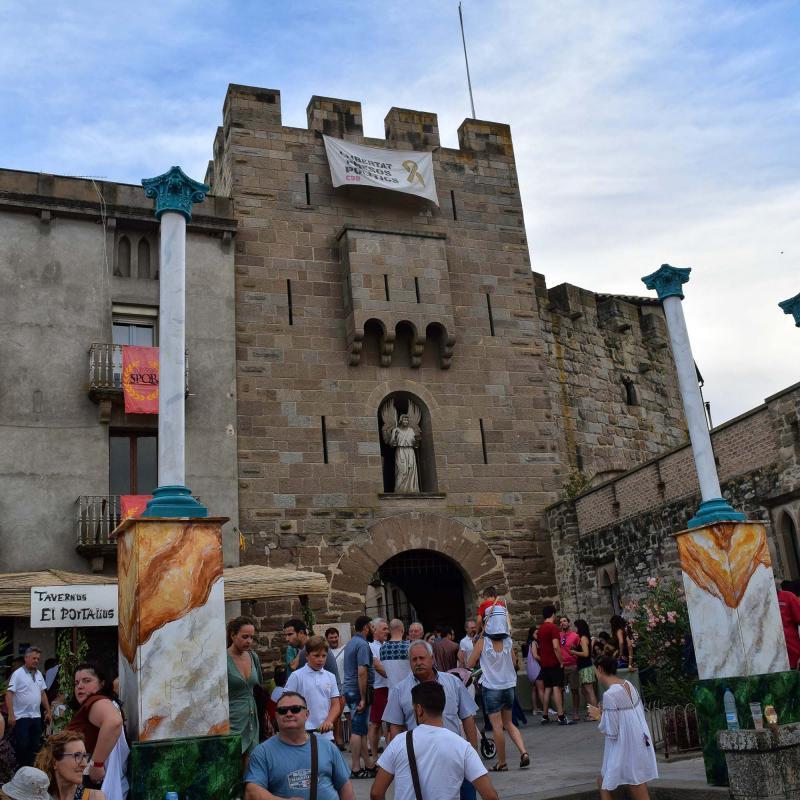 21.07.2018 portal de l'àngel  Guissona -  Ramon Sunyer