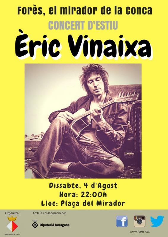 Concert d'Èric Vinaixa
