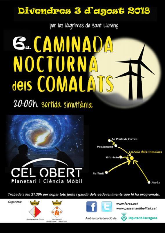 6a Caminada Nocturna dels Comalats