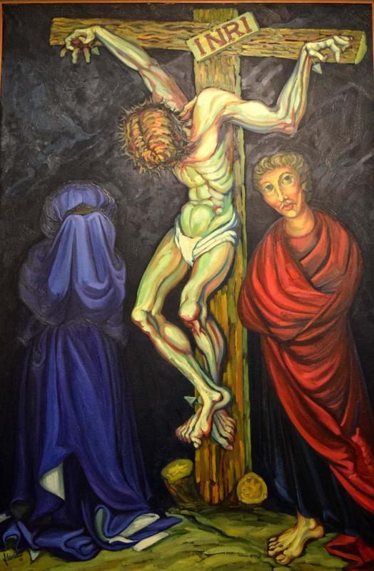 05.08.2018 Crist crucifixat (oli)  -  Miró i Rosinach