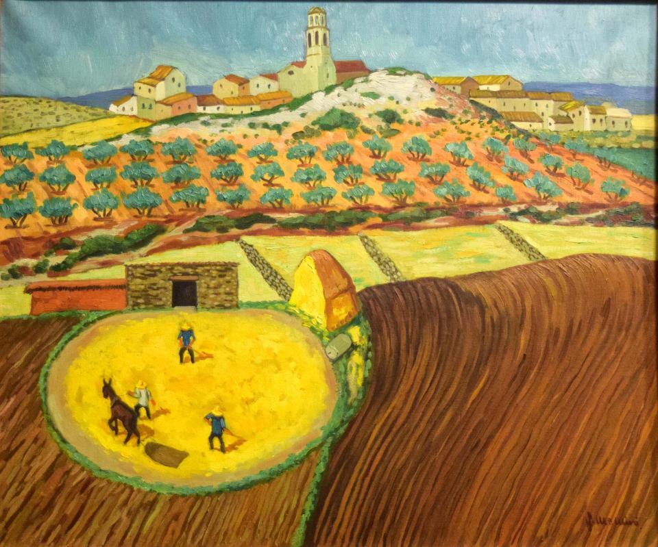 05.08.2018 La tanda (oli)  -  Miró i Rosinach